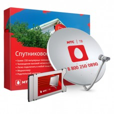 МТС - комплект для просмотра на один телевизор (модуль CI+)